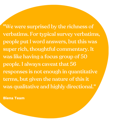 Biena Team Quote 1